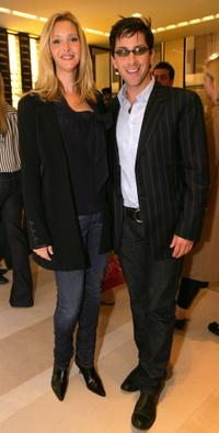 Lisa Kudrow and Dan Bucatinsky at the CHANEL and P.S. ARTS Party.