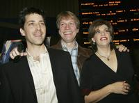 Dan Bucatinsky, Don Roos and Director Jodi Binstock at the premiere of
