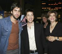 Adam Goldberg, Dan Bucatinsky and Jodi Binstock at the premiere of