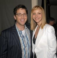 Dan Bucatinsky and Lisa Kudrow at the premiere of