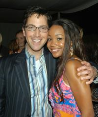 Dan Bucatinsky and Kimberly Kevon Williams at the premiere of