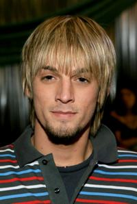 Aaron Carter at the 20th annual Kid's Choice Awards.