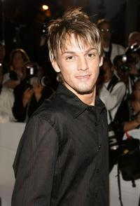 Aaron Carter at the 33rd Annual People's Choice Awards.