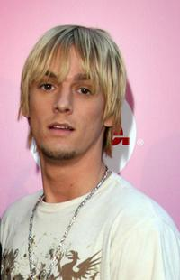 Aaron Carter at the Style Network Party at Summer TCA Tour.
