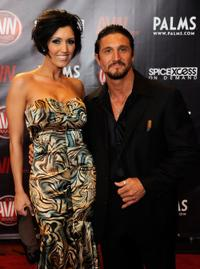 Dylan Ryder and Tommy Gunn at the 27th Annual Adult Video News Awards Show.