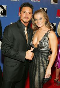 Tommy Gunn and Rita Faltoyano at the Adult Video News Awards Show.