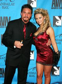 Tommy Gunn and Ashlynn Brooke at the 25th Annual Adult Video News Awards Show.