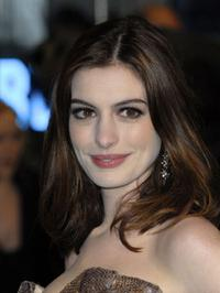 Anne Hathaway at the London premiere of