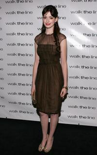 Anne Hathaway at the premiere of