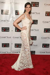 Anne Hathaway at Conde Nast's