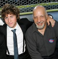 Alex D. Linz and Erick Avari at the 2007 CineVegas Hollywood Reporter Cocktail Party.