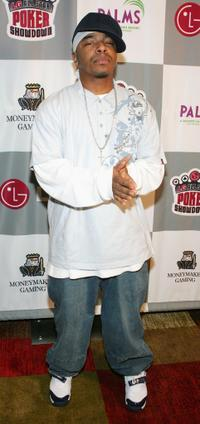 Sisqo at the LG All-Star Poker Showdown and Party.
