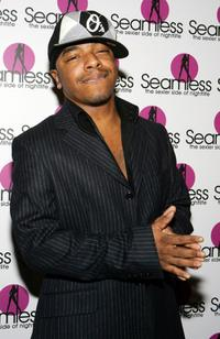 Sisqo at the grand opening of the Seamless Adult Ultra Lounge.