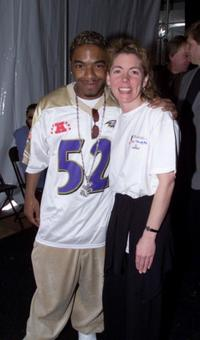 Sisqo and Jennifer at the Grammy Week 2001.