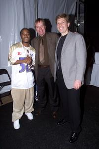 Sisqo, Gene Millard and Robert Santelli at the Grammy Week 2001.