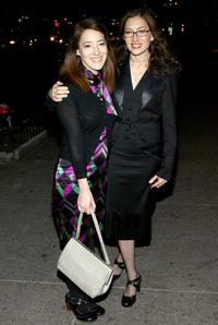 Clea Lewis and Annabelle Gurwitch at the premiere party of