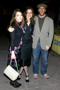 Clea Lewis, Annabelle Gurwitch and Joey Slotnick at the premiere party of