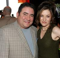 Emeril Lagasse and Annabelle Gurwitch at the Discovery Upfront Presentation NY - Talent Images.