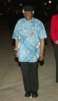 Desmond Tutu at the 2004 Tribeca Film Festival.