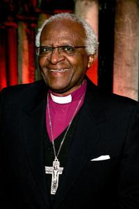 Desmond Tutu at the Explorers Club in New York.