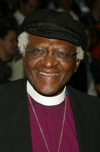 Desmond Tutu at the Sesame Workshop's Second Annual Benefit Gala.