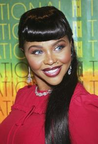 Lil' Kim at the 21st Annual Night of Stars.