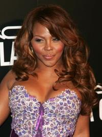 Lil' Kim at the M.A.C. Viva Glam VI dinner to benefit Aids research.