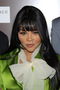 Lil' Kim at the New York screening of