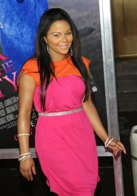 Lil' Kim at the New York premiere of