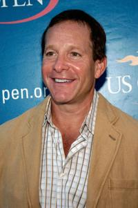 Steve Guttenberg at the Buzz Party before the U.S. Open women's singles final.