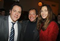Director Jon Favreau, Steve Guttenberg and Carol Alt at the after party of