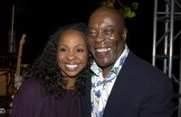 Gladys Knight and Buddy Guy at the B.B. King's 80th Birthday Celebration and Museum Fundraiser.