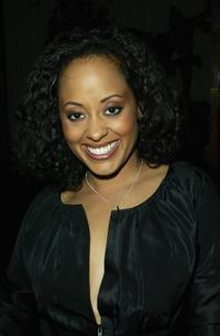 Essence Atkins at the NAACP (National Association for the Advancement of Colored People) Image Awards Cocktail reception.
