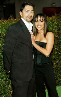 Essence Atkins and Guest at the 35th Annual NAACP Image Awards.