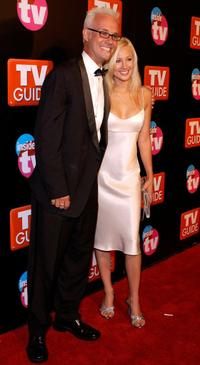 George Gray and his Guest at the TV Guide and Inside TV 2005 Emmy after party.