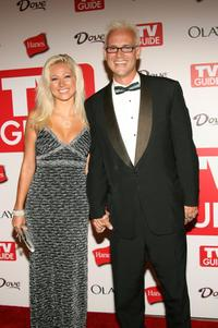 Nicole Malgarini and George Gray at the 4th Annual TV Guide after party celebrating Emmys 2006.