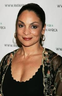 Jasmine Guy at the Archbishop Desmond Tutu's 75 birthday gala fundraiser Tutu - One Amazing Night of Celebration.