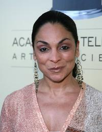 Jasmine Guy at the BAFTA/LA-Academy of Television Arts and Sciences Tea Party.