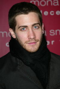 "Jake Gyllenhaal at the premiere of ""Mona Lisa Smile"" in New York City."