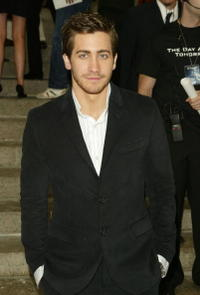 "Jake Gyllenhaal at the premiere of ""The Day After Tomorrow"" in New York City."