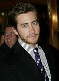 "Jake Gyllenhaal at the premiere screening of ""Brokeback Mountain"" in Toronto, Canada."