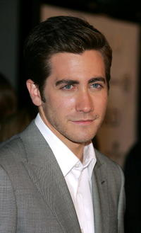 "Jake Gyllenhaal at the premiere of ""Jarhead"" in Los Angeles, California."