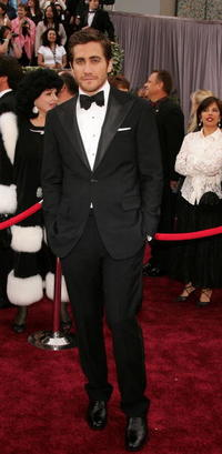 Jake Gyllenhaal at the 78th Annual Academy Awards in Hollywood, California.