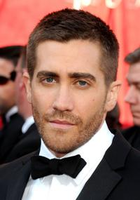 Jake Gyllenhaal at the 82nd Annual Academy Awards.