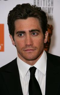 Jake Gyllenhaal at the Orange British Academy Film Awards.