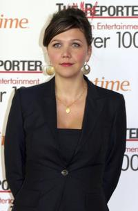 Maggie Gyllenhaal at The Hollywood Reporter's Women in Entertainment Breakfast.