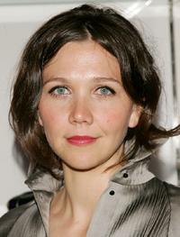 Maggie Gyllenhaal at the Paris, Je Taime premiere after party.