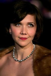 Maggie Gyllenhaal at the Vanity Fair Oscar party.