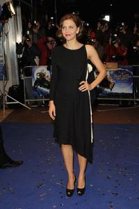 Maggie Gyllenhaal at the London premiere of