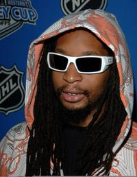 Lil' Jon at the Stanley Cup Playoff Party.